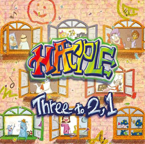HAPPLE「Three to 2,1」ジャケ